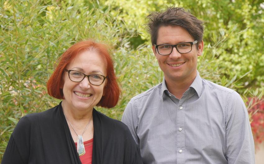 Dr. Marita Haibach und Jan Uekermann - Gründer des Major Giving Institute